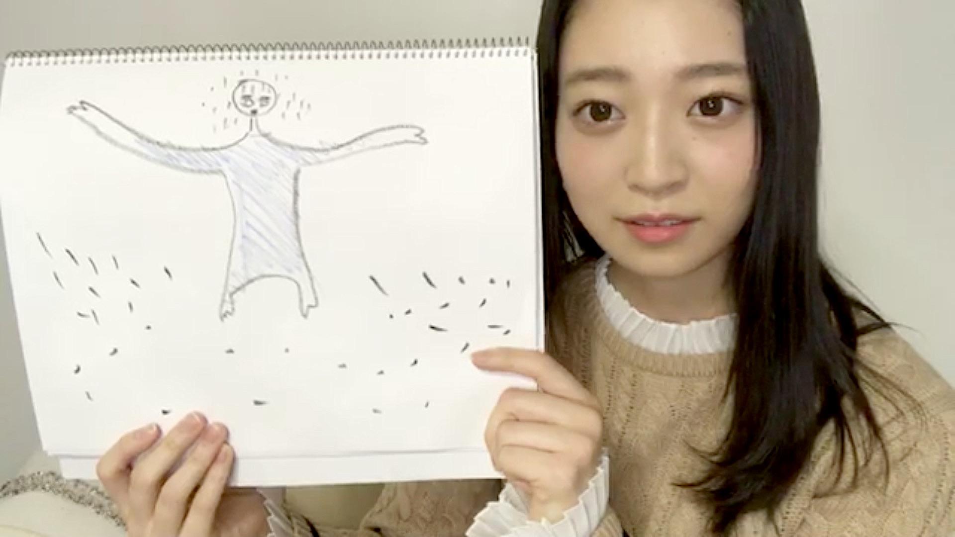 【のぎおび⊿】阪口珠美が描いたフライング飛鳥