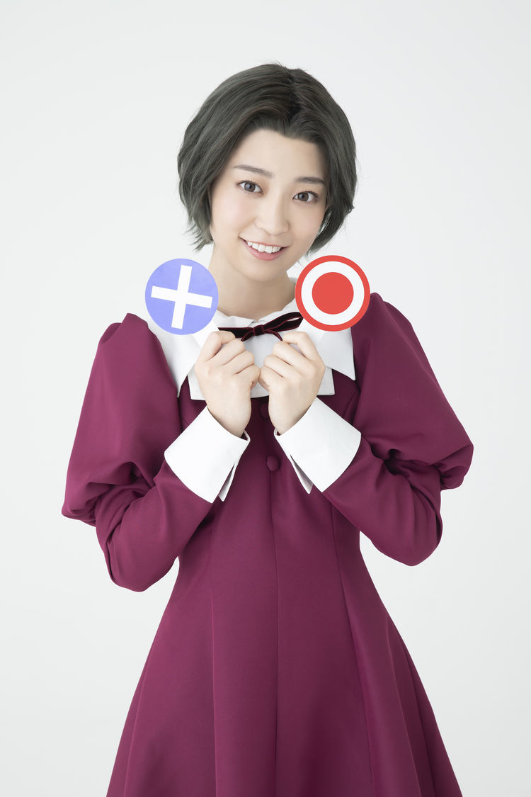舞台「ナナマルサンバツ2」キービジュアル、キャラクタービジュアル 阪口珠美