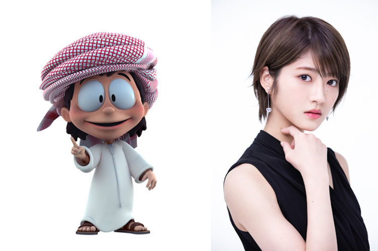 若月佑美、ドバイが舞台のアニメ「フリージ」で声優初挑戦