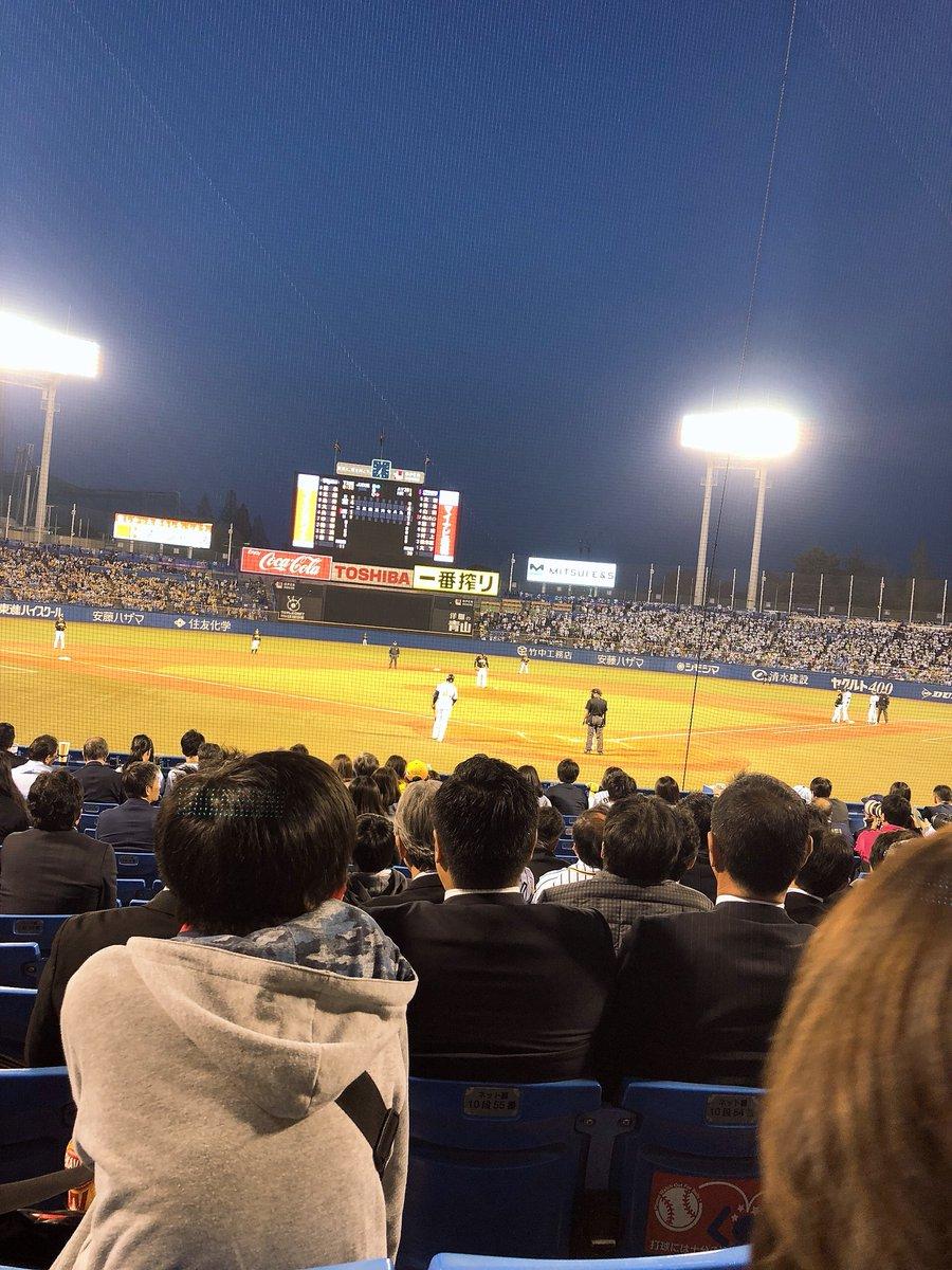 永島聖羅「神宮球場、面白い試合でした!」