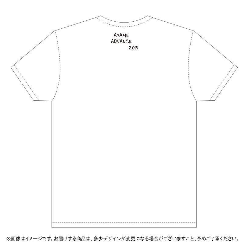 筒井あやめ2019生誕Tシャツ裏