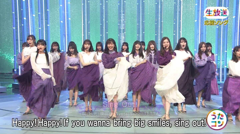 うたコン 乃木坂46「Sing Out!」4