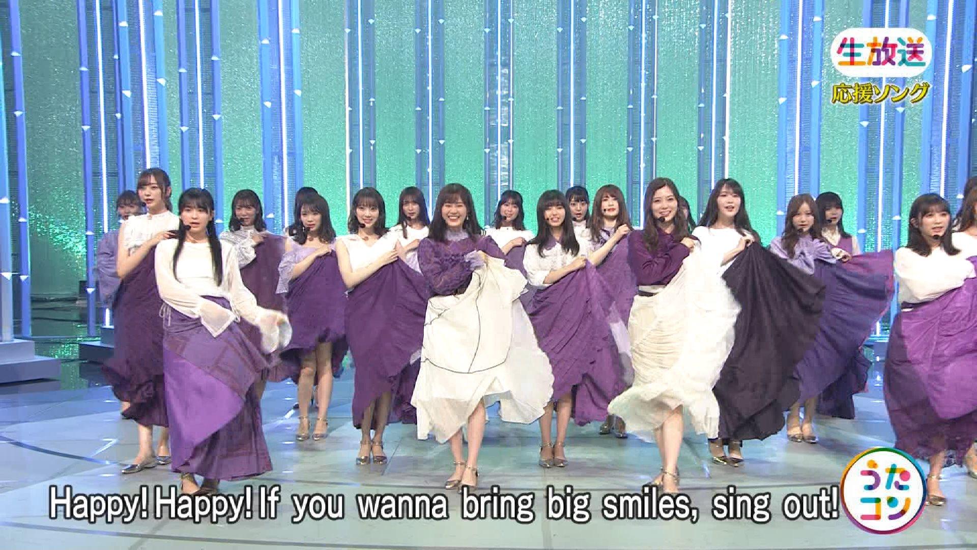 【うたコン】乃木坂46『Sing Out!』真夏さん足出しすぎw