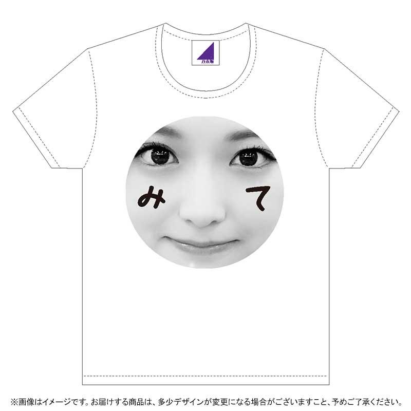 松村沙友理2019生誕Tシャツ 表