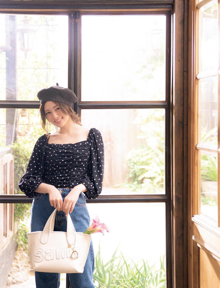 白石麻衣×サマンサ×sweet トリプルコラボ アイテム完成3