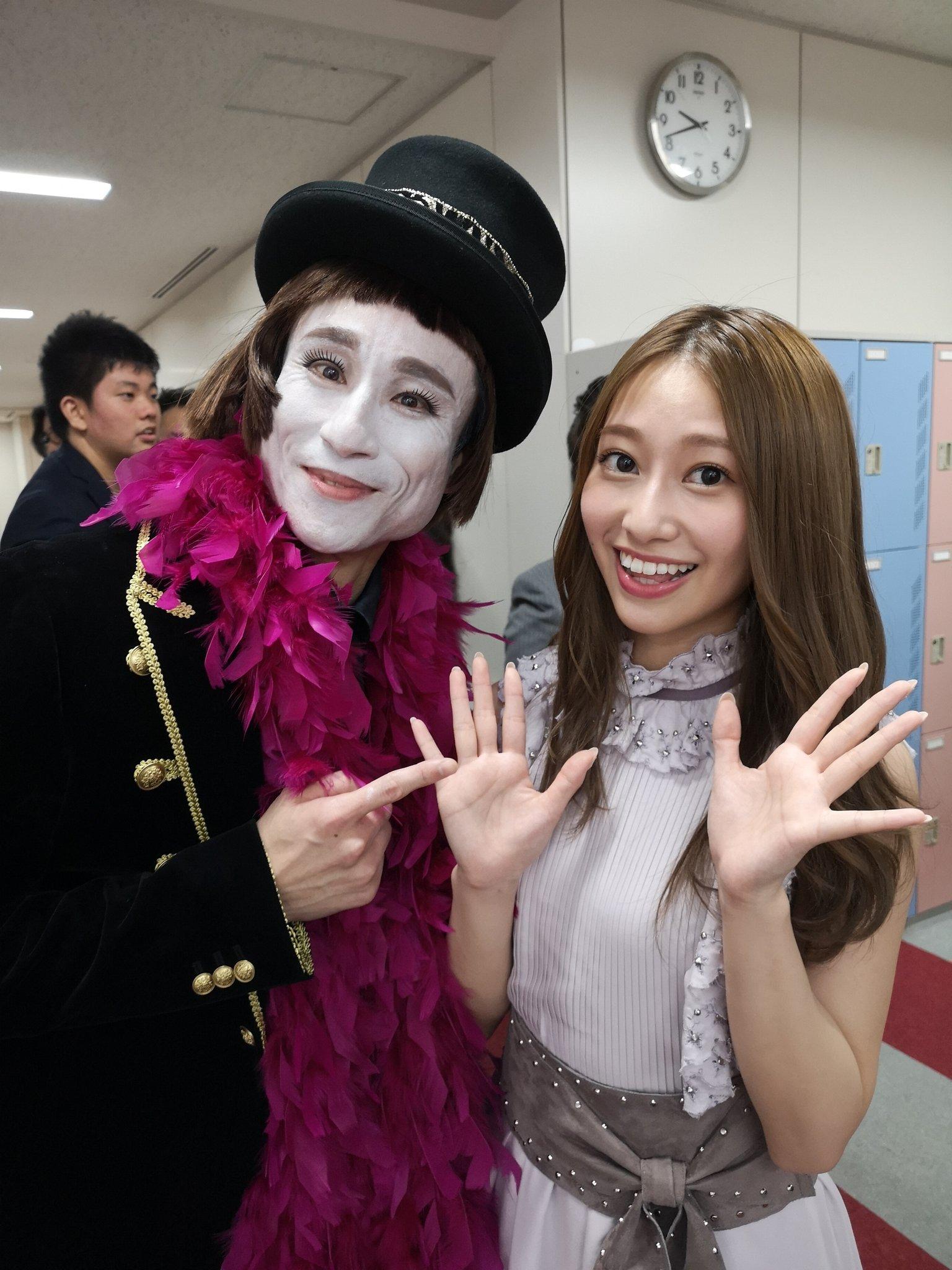 FNSうたの夏まつり  なだぎ武 桜井玲香