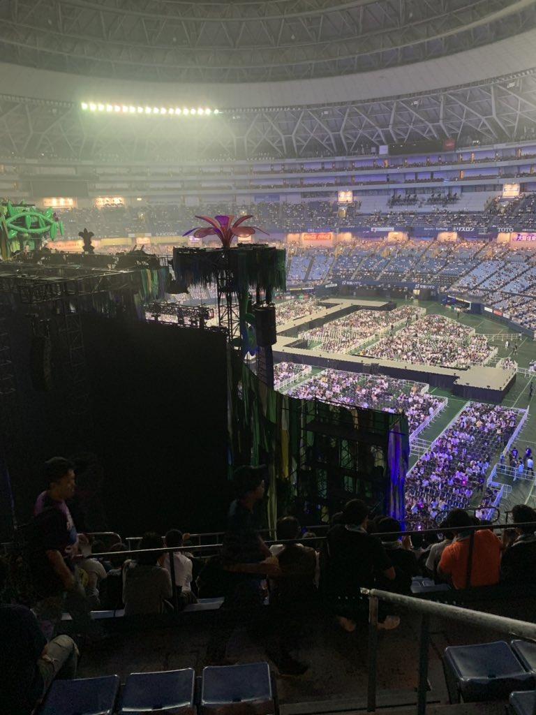 乃木坂46真夏の全国ツアー2019大阪公演 ステージバック席
