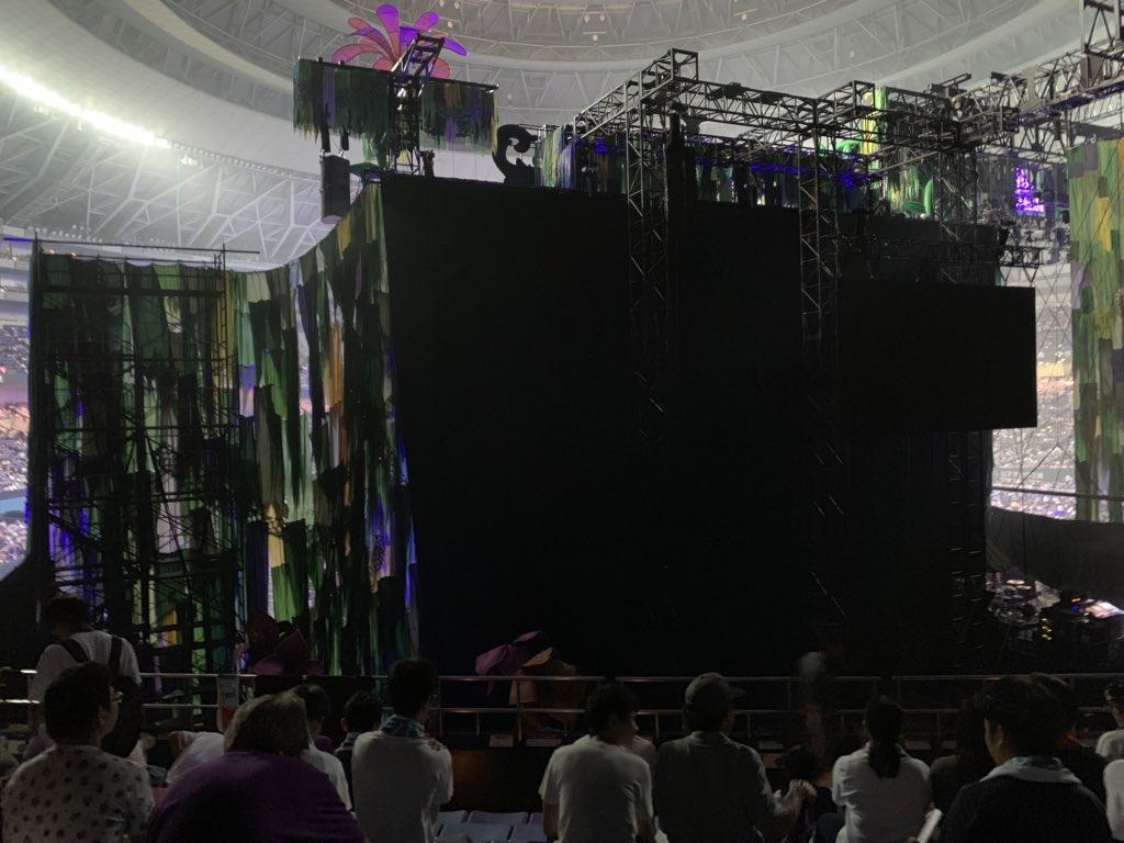 乃木坂46真夏の全国ツアー2019大阪公演 ステージバック席2
