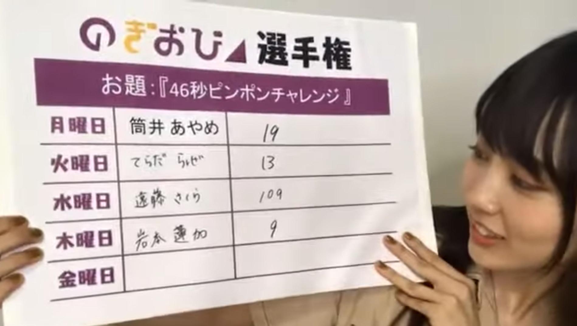 賀喜遥香「のぎおび⊿」