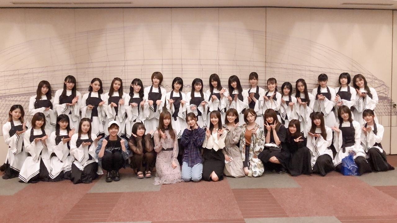 乃木坂46 欅坂46東京ドーム公演 集合写真