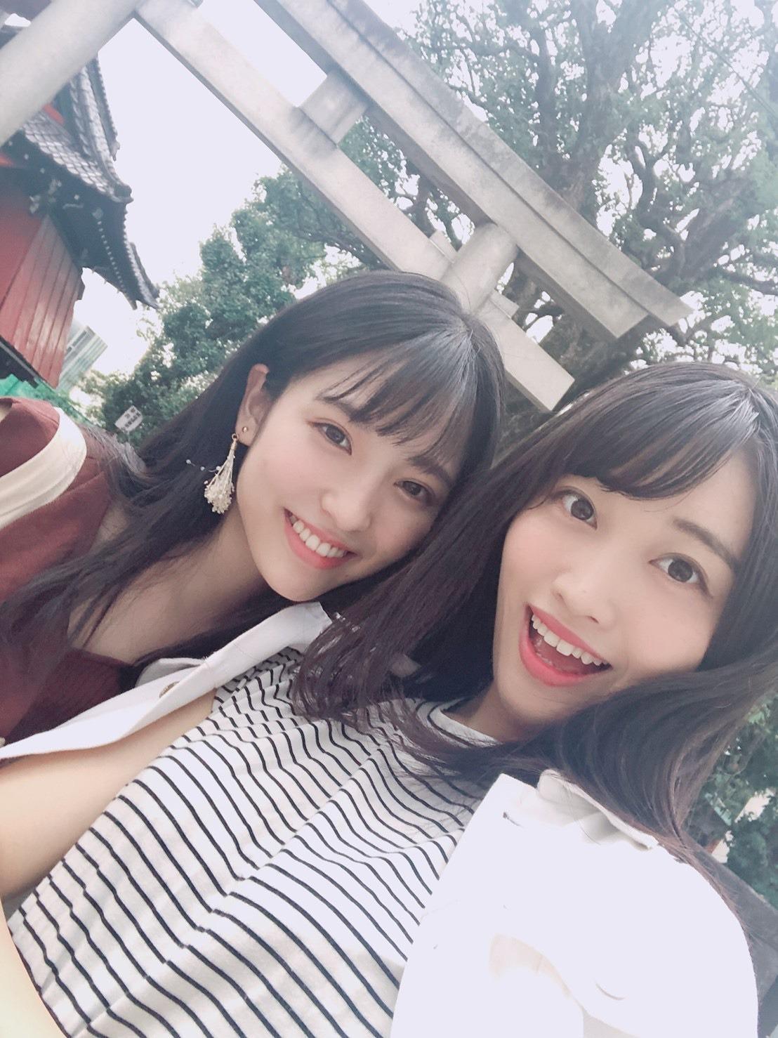 氷川神社2 早川聖来 武田莉奈