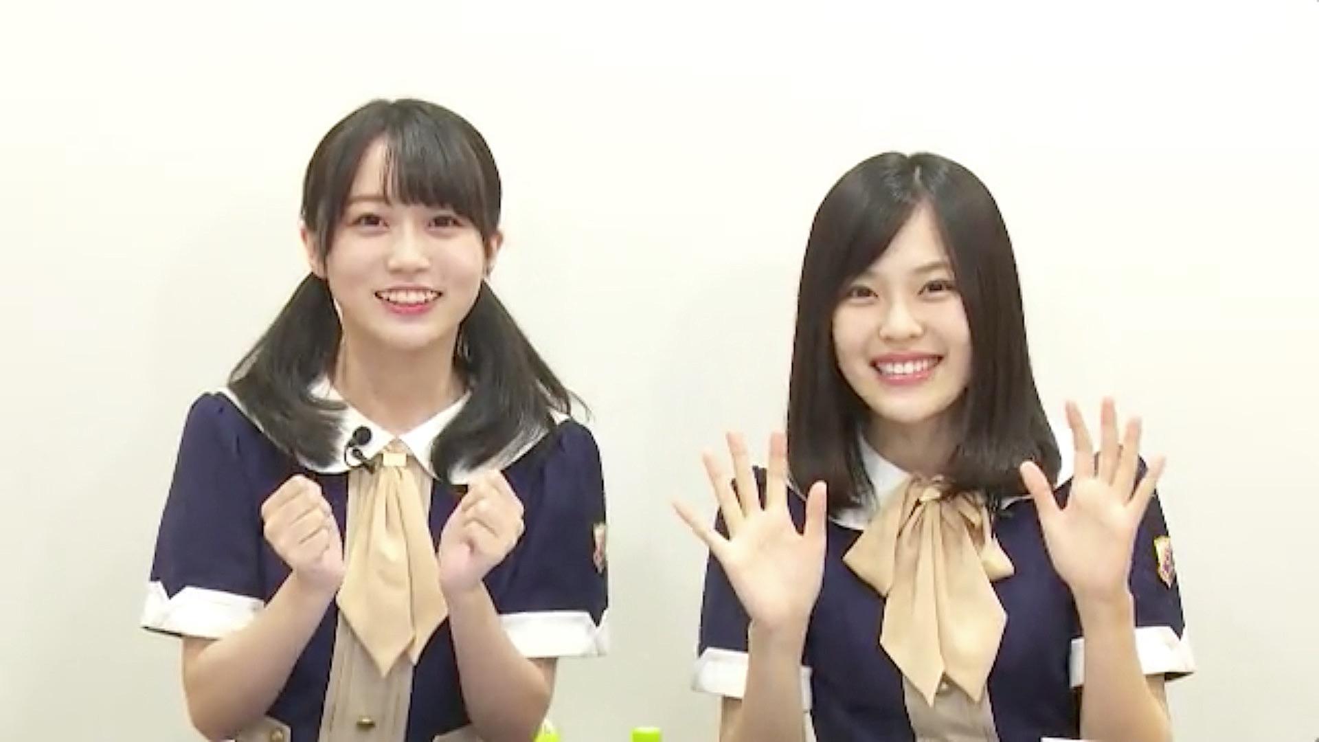 乃木坂46「猫舌SHOWROOM」 矢久保美緒 柴田柚菜