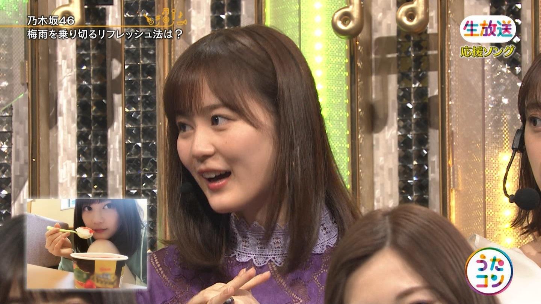 【うたコン】乃木坂46生田絵梨花「私は朝アイスを食べます」2