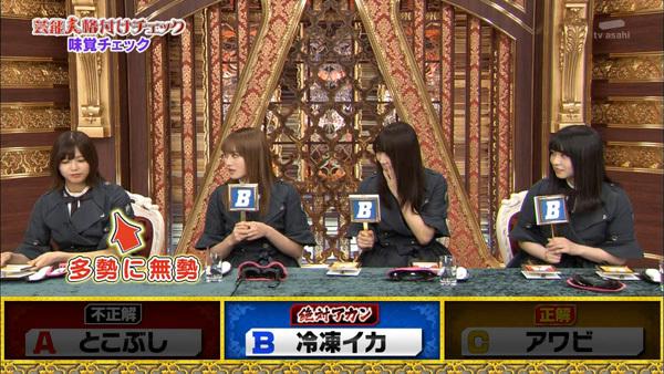 芸能人格付けチェック2019 欅坂46 味覚7