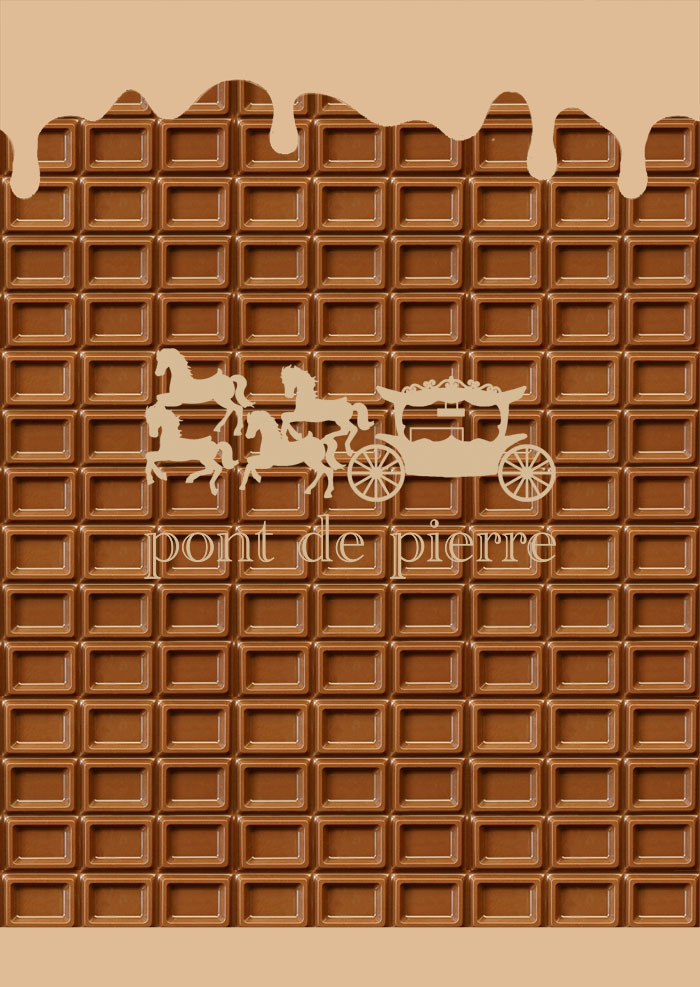 チョコレート コレクショ 裏面