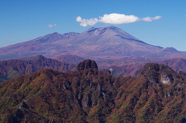 妙義山から浅間山