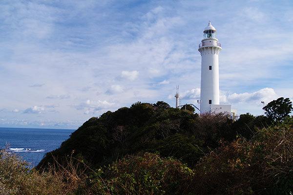 いわき市の塩屋崎灯台