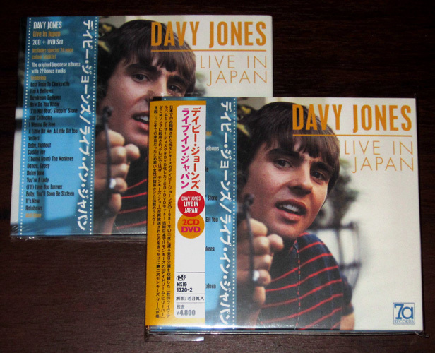 Davy jones liveCD