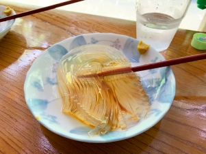 日本一のトコロテンを食べてきました