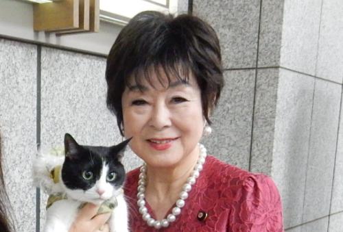 参議院議員 山東昭子先生 500