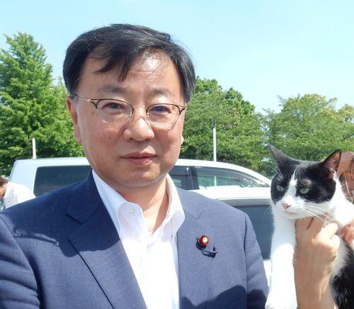 衆議院議員 松野博一先生 500