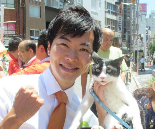参議院議員候補 音喜多俊先生 19年東京 500