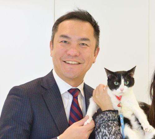 550 三重県鈴木英敬知事と猫ジャンヌダルク
