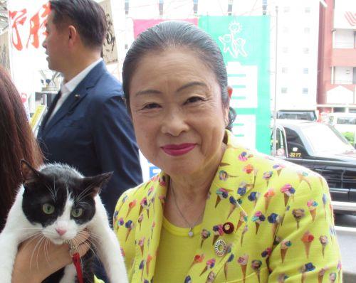 埼玉13区 衆議院議員 土屋品子先生 と猫ジャンヌダルク  500