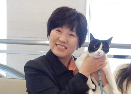 岡山3区 衆議院議員 阿部俊子先生とロビイスト猫ジャンヌダルク 500
