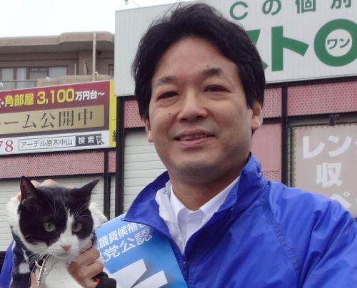 千葉5区 衆議院議員 薗浦健太郎先生と猫ジャンヌダルク  500