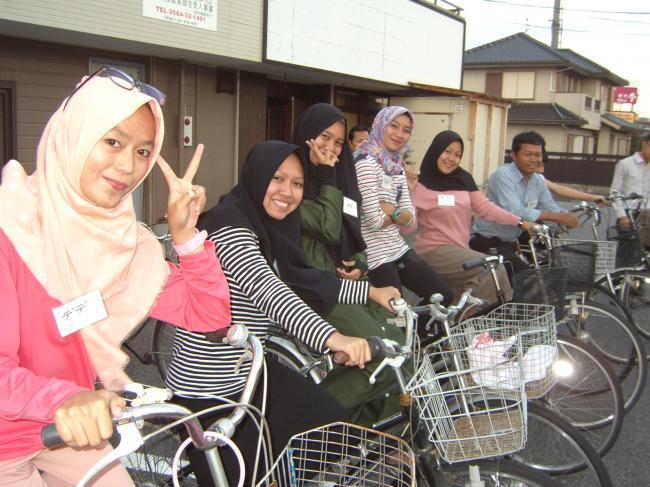 自転車の乗り方指導bl