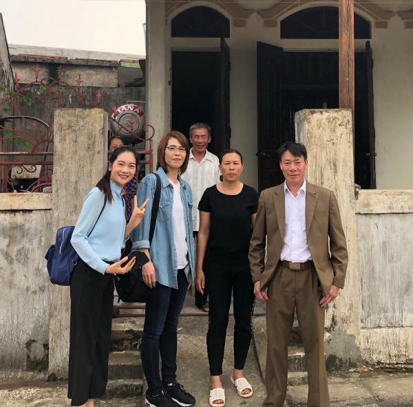 ベトナム実習生の家庭訪問➀