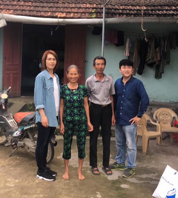 ベトナム実習生の家庭訪問②