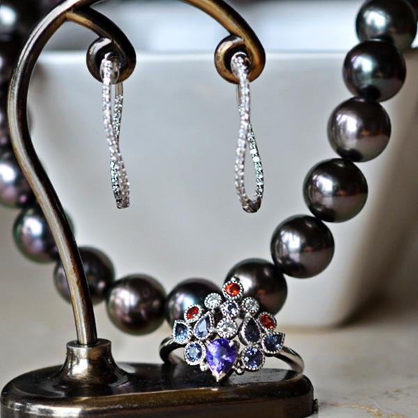 Pt900製ヴァイオレットパープルサファイアカラーチェンジサファイアカラーチェンジガーネットダイアモンドおれんじサファイアリング指輪ダイアモンドフープピアス南洋黒真珠タヒチ