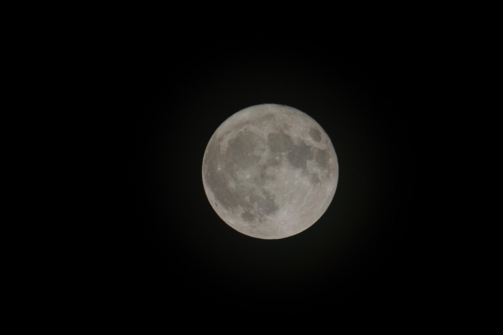 今年一番小さい満月