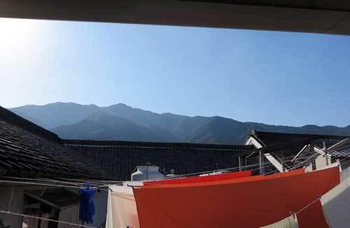 181021蔵から葛城山