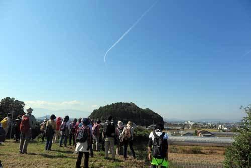 181108ホケノ山墳頂