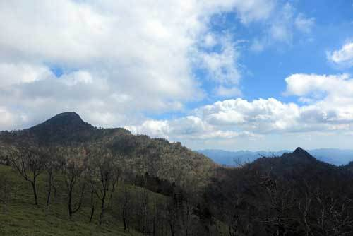 181030釈迦ヶ岳と大日岳