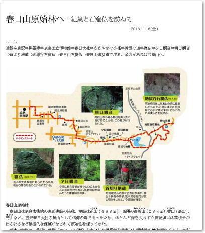 春日山原始林ハイキング-1