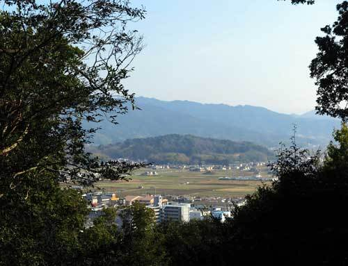 190305耳成山から香久山