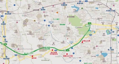 榁木峠越え地図