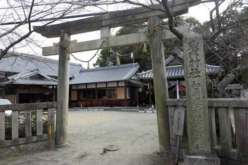 1902和爾座赤坂比古神社