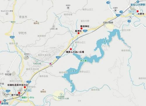 篠畑地図カラー