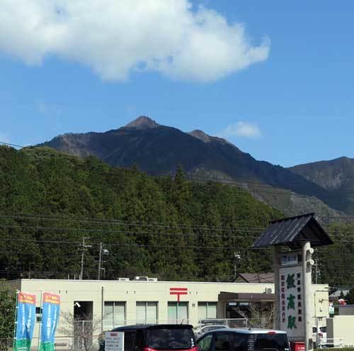 190409局ヶ岳遠望