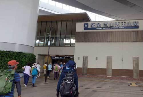 190708西山天王山駅