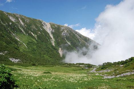 13.千畳敷カール雲