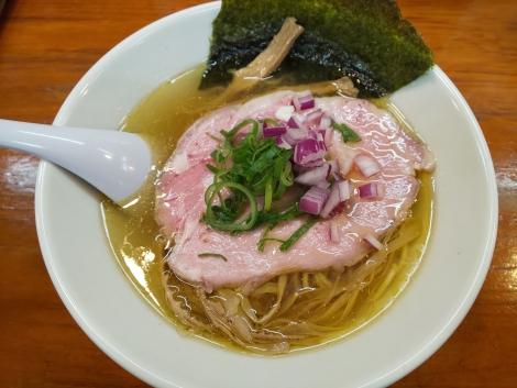 会津地鶏×ノドグロ煮干し塩