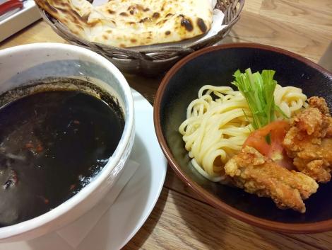 黒クミンスパイシーカレーつけ麺