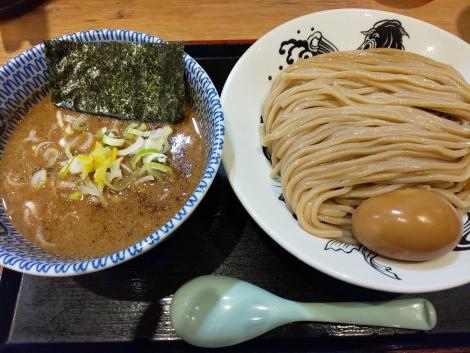 半熟味玉つけ麺