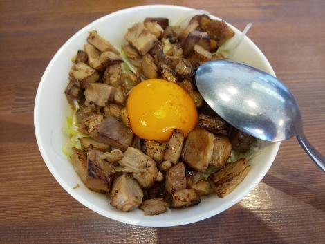 炙りチャー玉丼